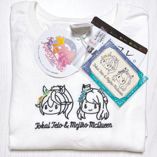 Avail - 新品 Avail アベイル ウマ娘 コラボ Tシャツ マックイーン テイオー 白