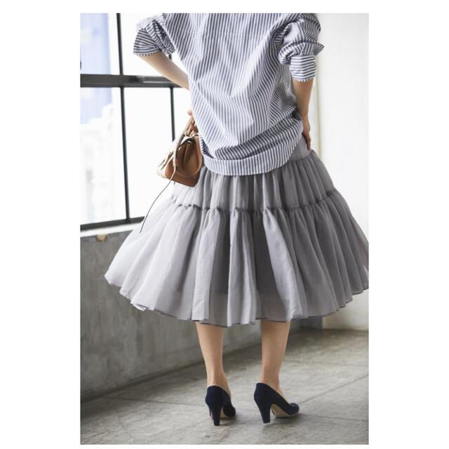 新品 seventen セブンテン オーガンジースカート レディースのスカート(ロングスカート)の商品写真