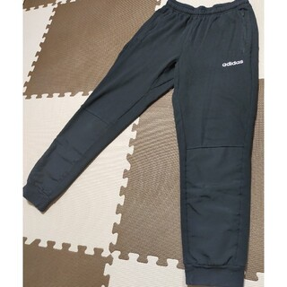 adidas - ☆ASP-226 アディダス スエットパンツ 黒&白ライン サイズ L