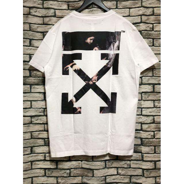OFF-WHITE(オフホワイト)のオフホワイト★20SS カラヴァッジオアロープリントTシャツ メンズのトップス(Tシャツ/カットソー(半袖/袖なし))の商品写真