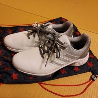 adidas - アディダスゴルフシューズ ZG21 26.5cm 紐タイプ