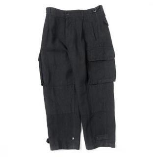 COMOLI - 19SS comoli カナパ6ポケットパンツ ブラック