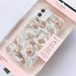 ケイトスペードニューヨーク(kate spade new york)のケイトスペード iPhone 11 ディフェンシブ ケース ブロッサム(iPhoneケース)