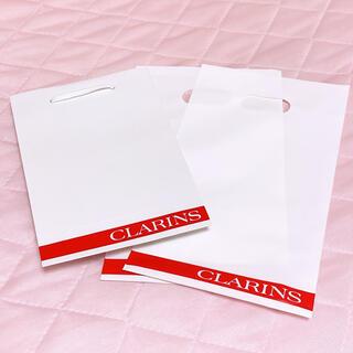 CLARINS - クラランス ショップ袋2枚 紙袋1枚 3点セット CLARINS