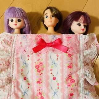 タカラトミー(Takara Tomy)のリカちゃん 3体セット(ぬいぐるみ/人形)