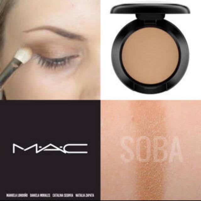 MAC(マック)のマック スモールアイシャドウ ソバ コスメ/美容のベースメイク/化粧品(アイシャドウ)の商品写真