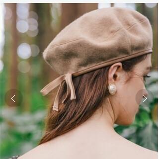 エイミーイストワール(eimy istoire)の新品未使用タグ付き ベレー帽(ハンチング/ベレー帽)