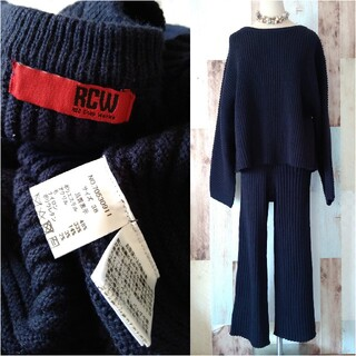 TODAYFUL - 美品【RED CHOP WORKS*CANALJEAN】リブニットセットアップ