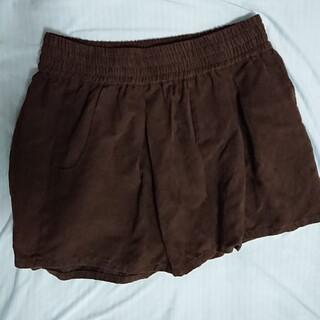 秋 ブラウン 茶色 ショートパンツ パンツ(ショートパンツ)