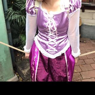 ディズニー(Disney)のラプンツェル 衣装 ドレス コスチューム 仮装(その他ドレス)