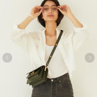 GALLARDA GALANTE - GALLARDAGALANTE 美品 クロップドシャツ ホワイト