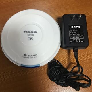 パナソニック(Panasonic)のポータブルCDプレーヤー(ポータブルプレーヤー)
