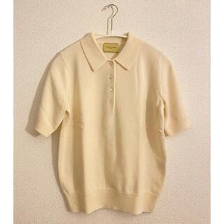 ユナイテッドアローズ(UNITED ARROWS)の【美品】ユナイテッドアローズ  カシミヤニットポロシャツ(ニット/セーター)