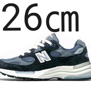 ニューバランス(New Balance)のNew Balance 992GG ネイビー 26㎝(スニーカー)