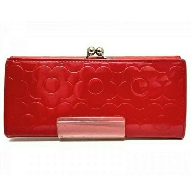 MARY QUANT(マリークワント)の◆マリークワント  レッド  長財布◆ レディースのファッション小物(財布)の商品写真