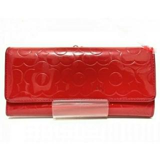 MARY QUANT - ◆マリークワント  レッド  長財布◆