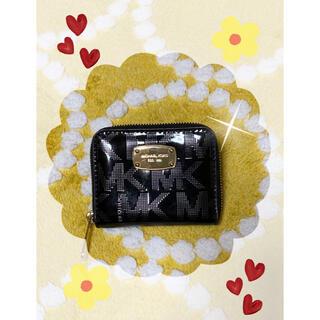 マイケルコース(Michael Kors)のマイケルコース  エナメル2つ折り財布(折り財布)