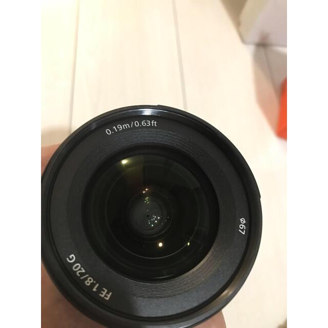 専用出品 SONY  FE20mm F1.8G  SEL20F18G  スマホ/家電/カメラのカメラ(レンズ(単焦点))の商品写真