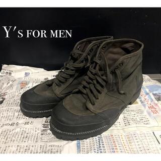 ヨウジヤマモト(Yohji Yamamoto)のY's for men ワイズ ヨウジヤマモト スニーカー ブーツ 古着(ブーツ)