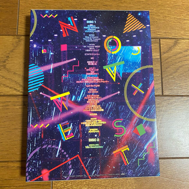 Johnny's(ジャニーズ)のジャニーズWEST ライブツアー なうぇすと 初回仕様BluRay エンタメ/ホビーのDVD/ブルーレイ(アイドル)の商品写真