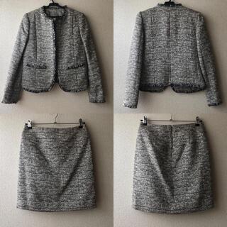 アンタイトル(UNTITLED)のUNTITLED スーツ ジャケット&スカート セットアップ(スーツ)
