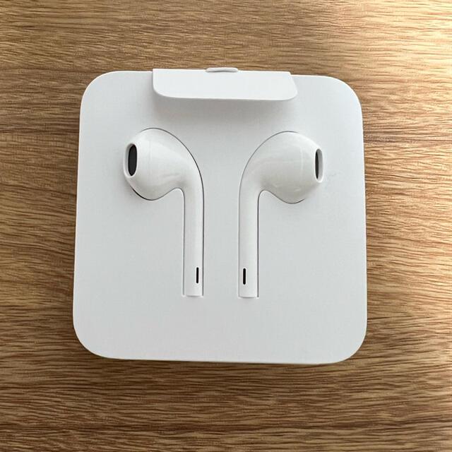 Apple(アップル)のiPhone純正イヤホン iPhoneイヤホン 純正品 スマホ/家電/カメラのオーディオ機器(ヘッドフォン/イヤフォン)の商品写真