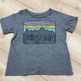 パタゴニア(patagonia)のパタゴニア Tシャツ 2T グレー(Tシャツ/カットソー)