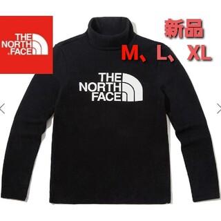 ザノースフェイス(THE NORTH FACE)のTHE NORTH FACE ノースフェイス 新品 タートルネック 長袖 M 黒(Tシャツ(長袖/七分))