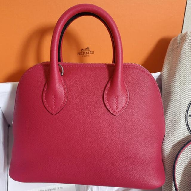 Hermes(エルメス)のこもりん様専用❣️美品❣️エルメス ボリードミニ フランボワーズ  レディースのバッグ(ショルダーバッグ)の商品写真