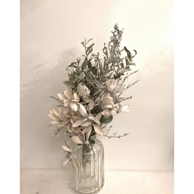 2束セット ドライフラワー スワッグ ブーケ 花束  ハンドメイドのフラワー/ガーデン(ドライフラワー)の商品写真