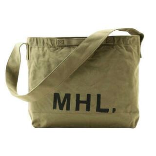 MARGARET HOWELL - 大人気 MHL(マーガレットハウエル)定番 2WAYショルダーバッグ