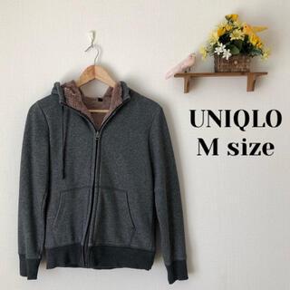 UNIQLO - UNIQLO✨ボアスウェットフルジップパーカ
