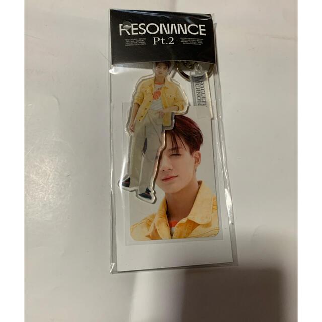 NCT2020 ジェノ 公式アクリルキーリング、トレカ付き エンタメ/ホビーのCD(K-POP/アジア)の商品写真