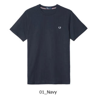 FRED PERRY - FRED PERRY ネイビーTシャツ