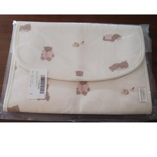 ジェラートピケ(gelato pique)のジェラートピゲ☆くまさん柄の母子手帳!新品ピンク!Mサイズ(母子手帳ケース)