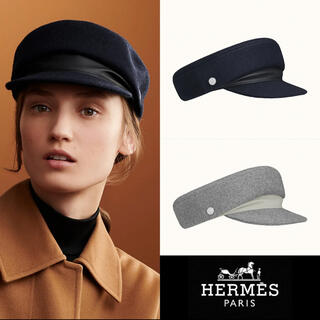Hermes - エルメス キャスケット HERMES Dani ネイビー 新品未使用