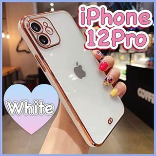 iPhoneケース iPhone12Pro スマホケース クリア 韓国(iPhoneケース)