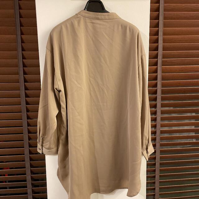 ViS(ヴィス)の木兎さま専用です。新品 VIS ロングシャツ ブラウス レディースのトップス(シャツ/ブラウス(長袖/七分))の商品写真