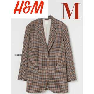 エイチアンドエム(H&M)の【新品/未着用】H&M オーバーサイズジャケット テーラードジャケット (テーラードジャケット)