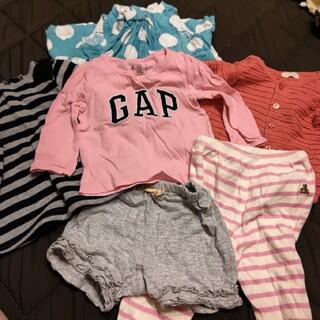 ベビーギャップ(babyGAP)の女の子6枚セット☆70(Tシャツ)