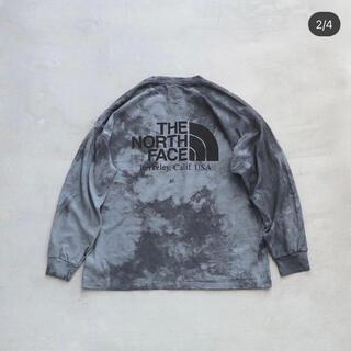 THE NORTH FACE - THE NORTH FACE タイダイ ロンT XL パープルレーベル