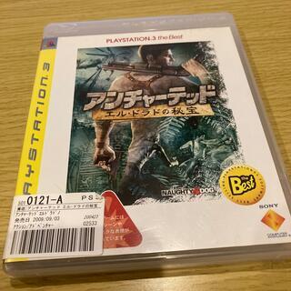 アンチャーテッド エル・ドラドの秘宝(PLAYSTATION 3 the Bes(家庭用ゲームソフト)