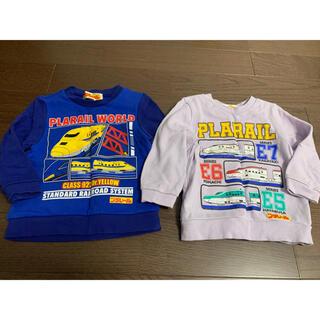 タカラトミー(Takara Tomy)のプラレール トレーナー (Tシャツ/カットソー)