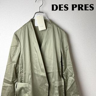 デプレ(DES PRES)の【新品タグ付】DES PRES/ノーカラーJK(ノーカラージャケット)