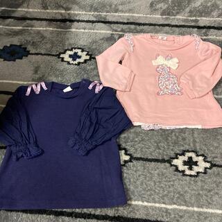 アカチャンホンポ(アカチャンホンポ)のアカチャンホンポ☆トレーナー 2枚セット サイズは90(Tシャツ/カットソー)