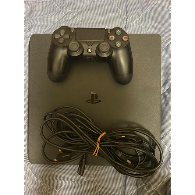 PlayStation4(プレイステーション4)の【サトリ様専用】 SONY PlayStation4 本体 ジェットブラック  エンタメ/ホビーのゲームソフト/ゲーム機本体(家庭用ゲーム機本体)の商品写真