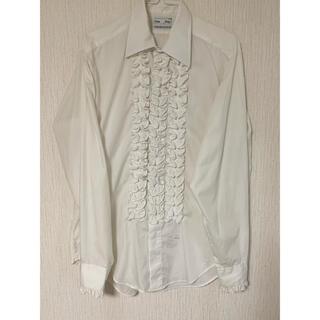 COMME des GARCONS - VINTAGE フリルシャツ 70s