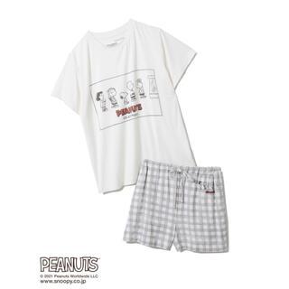 gelato pique - 【新品未使用タグ付き】PEANUTS ワンポイントTシャツ&ショートパンツセット