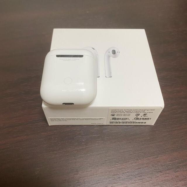 Apple(アップル)の値下❗️エアーポッズ第一世代 Apple スマホ/家電/カメラのオーディオ機器(ヘッドフォン/イヤフォン)の商品写真