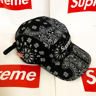 Supreme - bandana camp cap